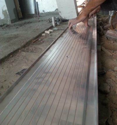 Interior Seismic Flooring System