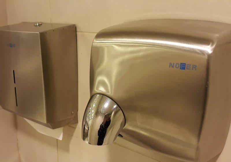 Hand Dryer & Paper Dispenser